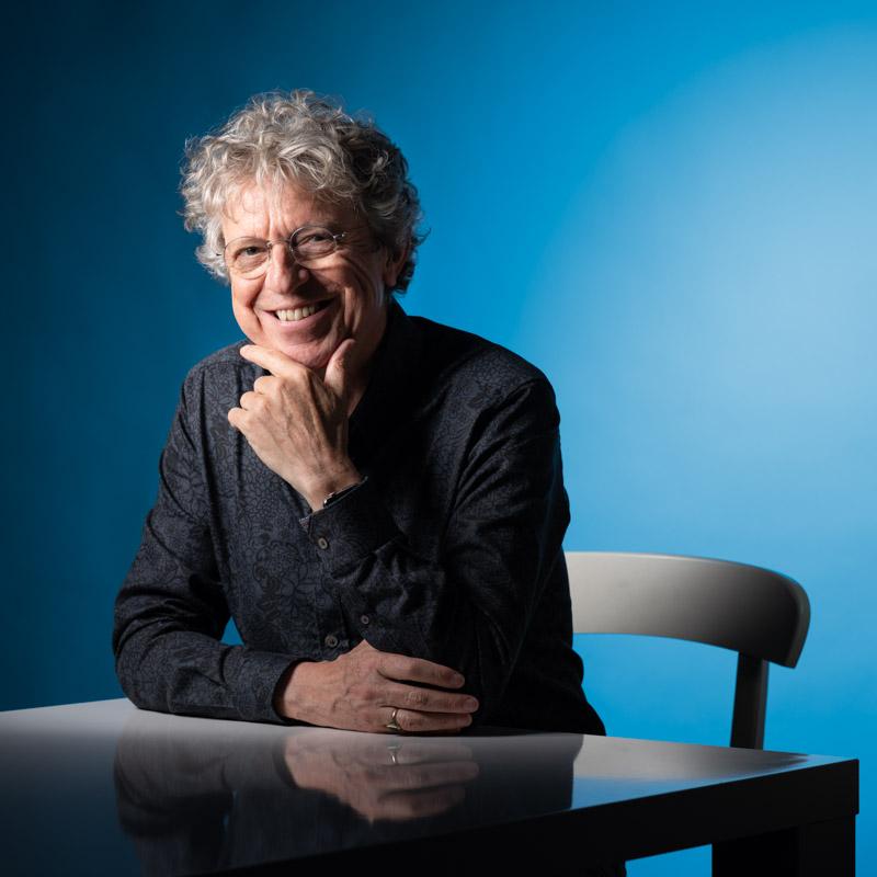 Portretfoto Barend Houtsmuller vierkant