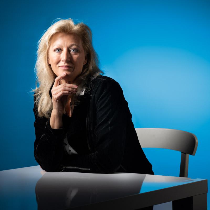 Portretfoto Carolien Beekman vierkant