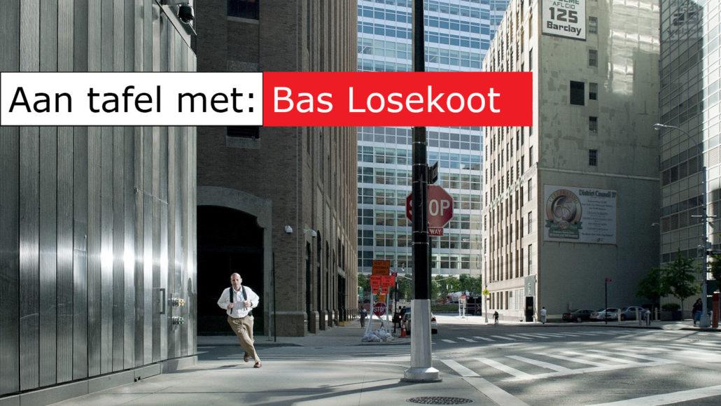 Aan tafel met... Bas Losekoot