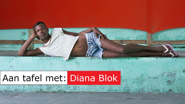 Photo020 Aan tafel met Diana Blok